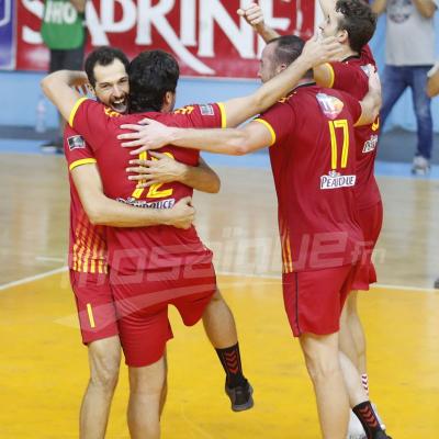 Volley-2e journée retour play-off: EST  (3- 1) CSS