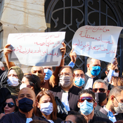 Les avocats en grève