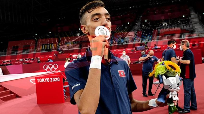 طوكيو 2020: محمد خليل الجندوبي يهدي تونس أول ميداليّة