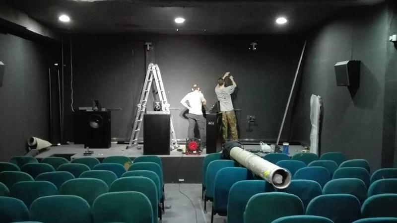 افتتاح قاعة سينما