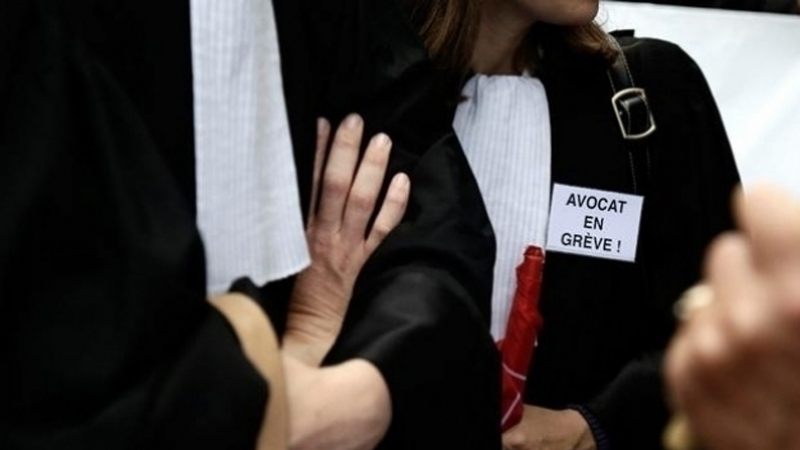 إضراب المحامين
