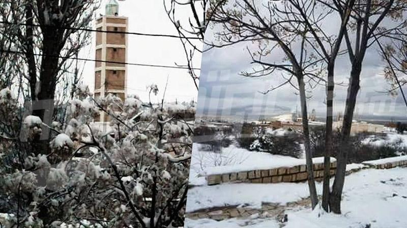 الثلوج في القصرين