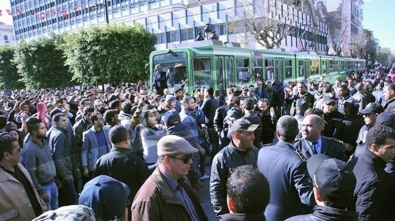 احتجاجات في العاصمة