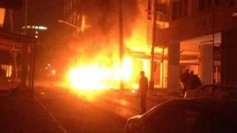 طرابلس : انفجار سيارة ملغومة قرب السفارة الإيطالية