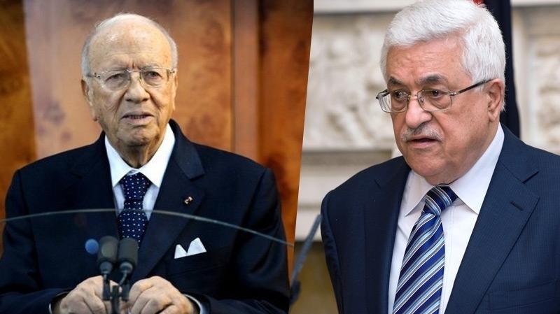 السبسي يدعو الرئيس الفلسطيني محمود عباس إلى زيارة تونس