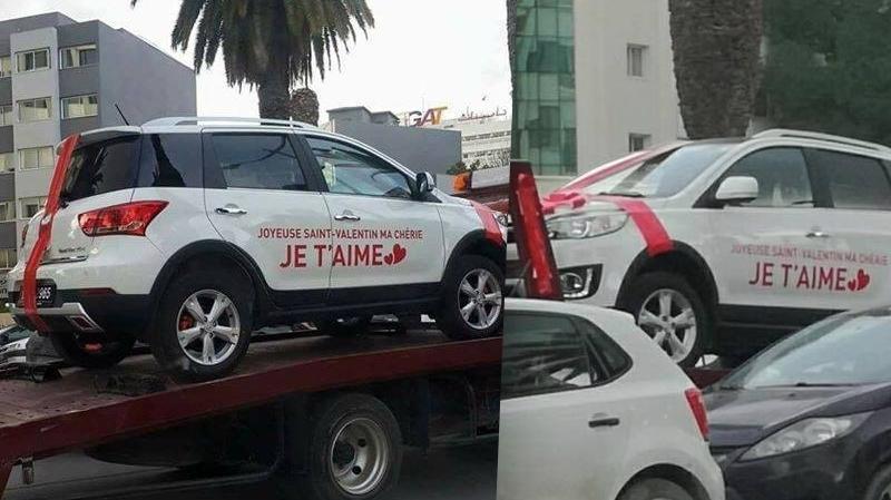 في عيد المحبة: تونسي يكافئ زوجته بسيارة بعد 29 سنة عشرة