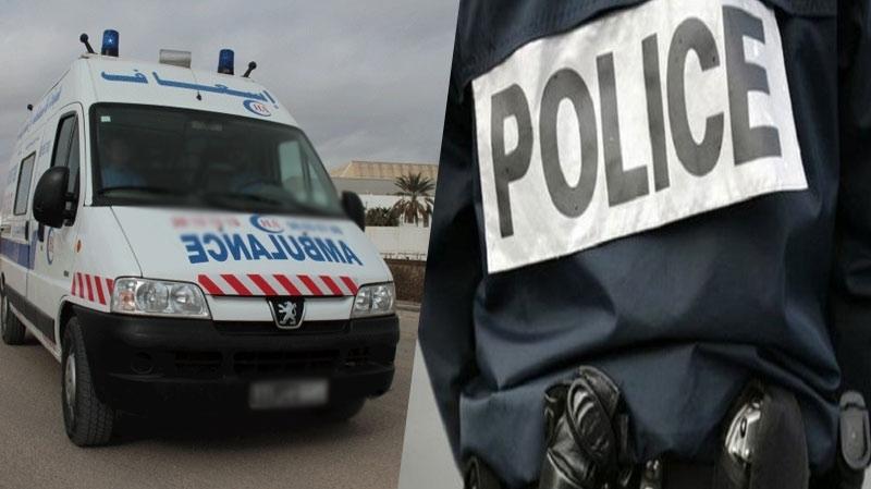 بنزرت إيقاف سائق سيارة إسعاف لديه زي أمني ووثائق أمنية