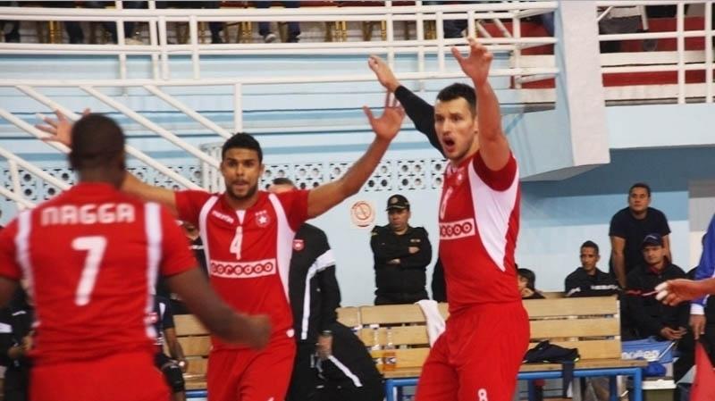 الكرة الطائرة: فوز ثان للنجم الساحلي في البطولة الإفريقية