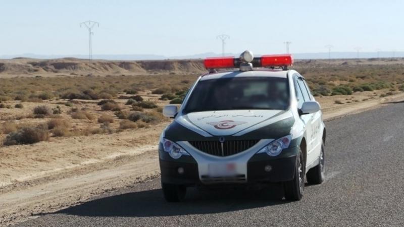 قبلي: اصابة 4  أعوان من طلائع الحرس الوطني خلال عملية مطاردة