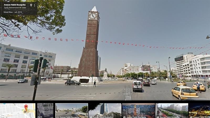 لأول مرة في شمال أفريقيا : شاهد مدن تونس عبر خدمة Street View