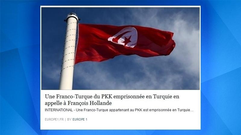 اذاعة ''اوروبا  1'' تخلط بين علمي تونس وتركيا
