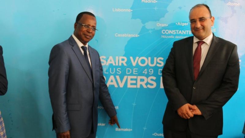 شركة الخطوط التونسية  تفتتح مكتبا تجاريا بكوناكري