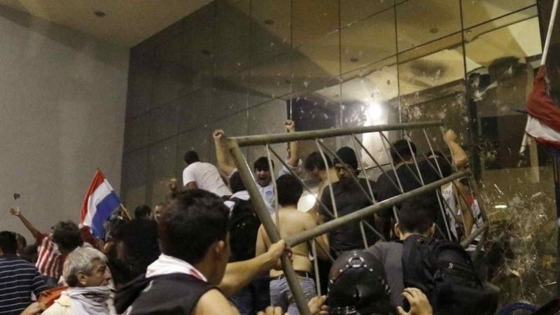 احتجاج - براغواي