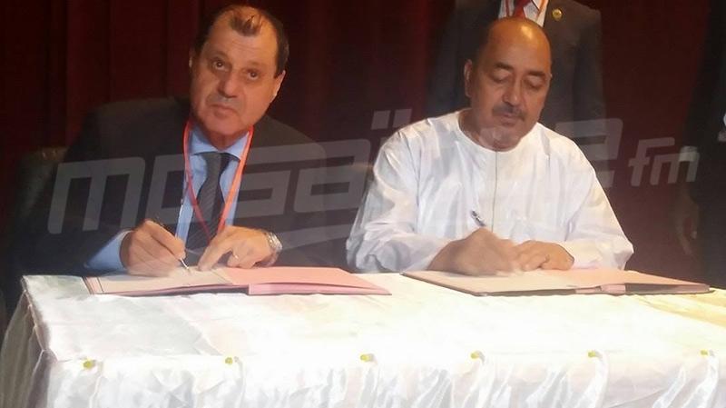 امضاء اتفاقيات