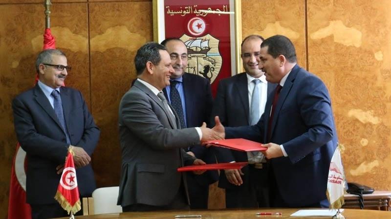 إمضاء اتفاقية بين نقابة الصحفيين ووزارة النقل