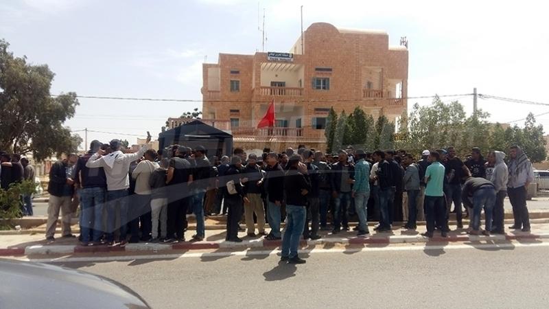تطاوين: مدير معمل الجبس يتنازل عن دعواه ضد شباب وادي الغار المحتجين