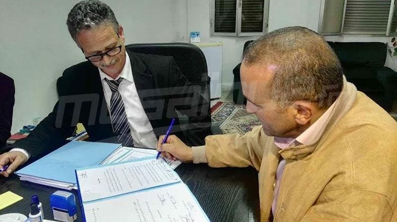 محضر الاتفاق بين النقابة وإدارة معمل الكابل