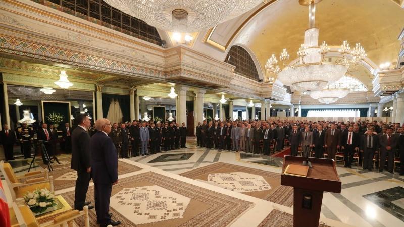 تكريم ثلة من إطارات وضباط وأعوان الأمن الرئاسي وقوات الأمن الداخلي