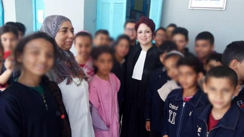 قضاة يزورون تلاميذ مدارس