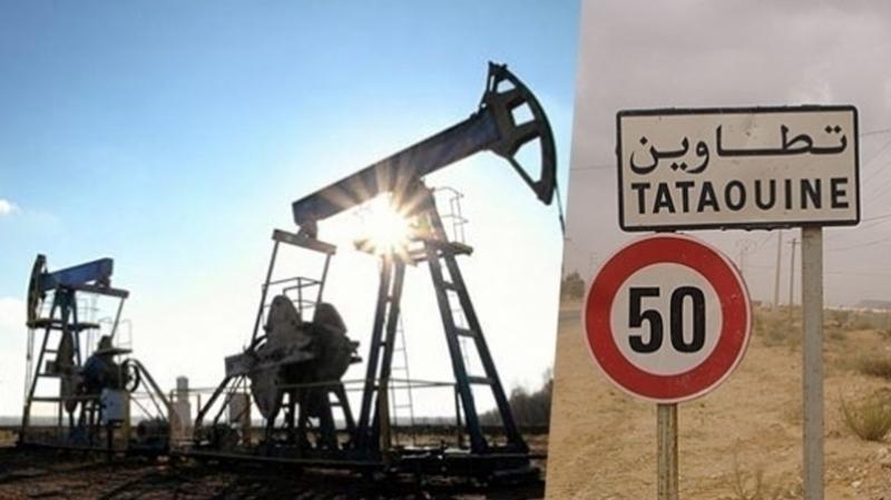 الحقول النفطية بتطاوين