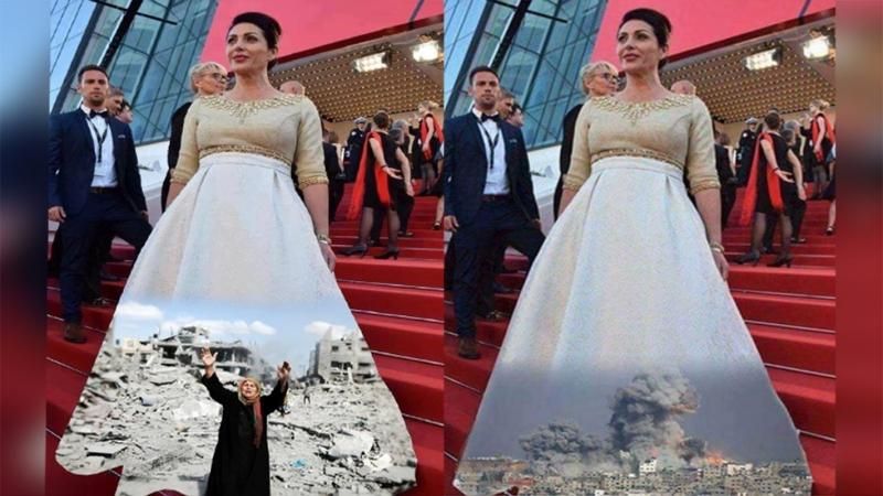 فستان وزيرة اسرائلية