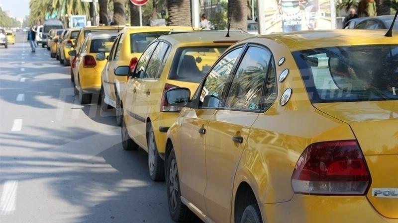 إضراب تاكسي
