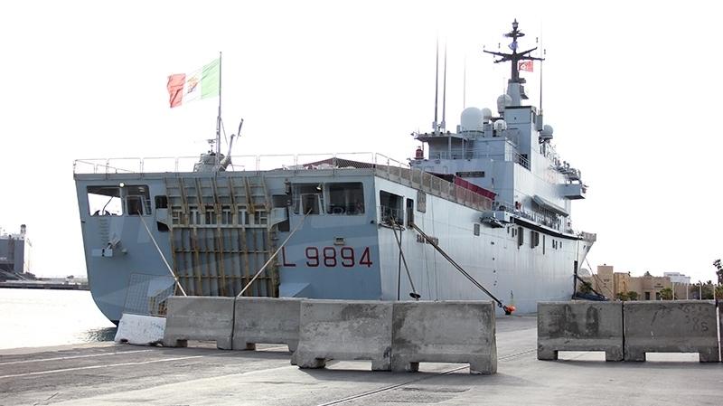 قائد عملية 'صوفيا':  نحو إجراء تدريبات مشتركة مع البحرية التونسية