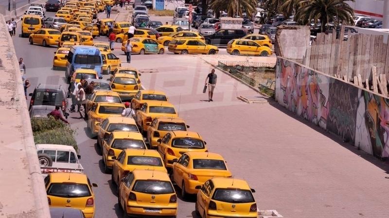 اضراب تاكسي