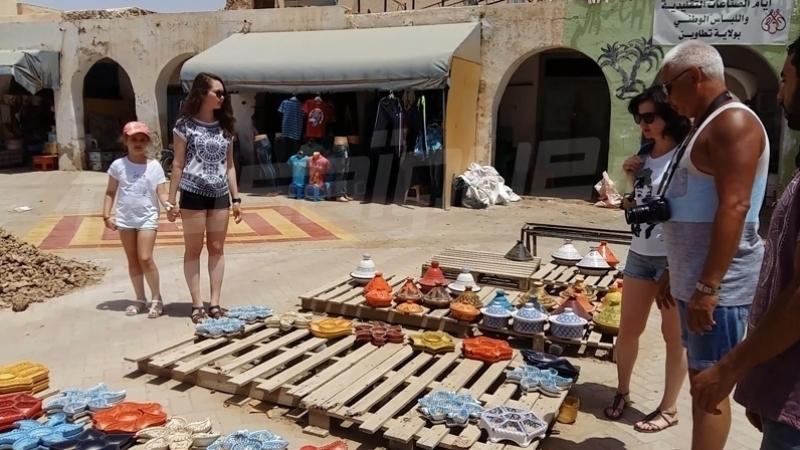 سياح في الجنوب التونسي