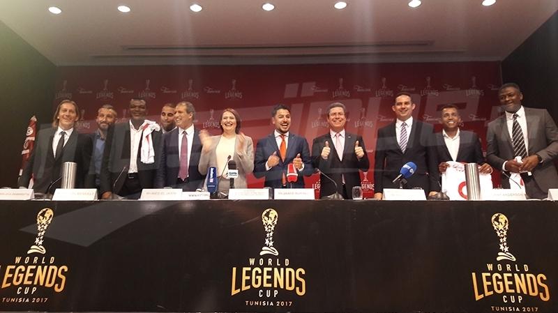 أساطير كرة القدم العالمية في تونس من 5 الى 10 ديسمبر