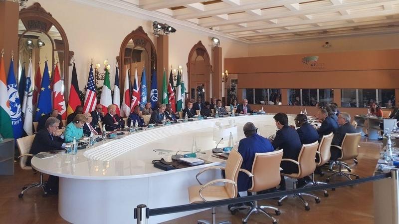 مجموعة الدول السبع : مستعدون للعمل مع روسيا الحليفة للنظام السوري