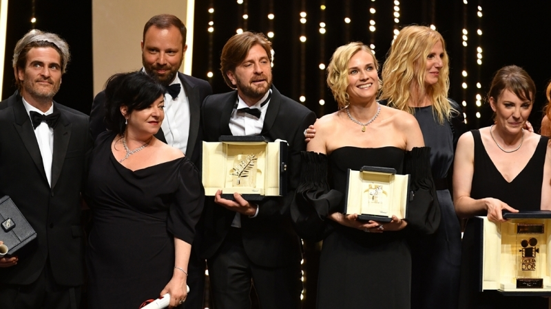 فيلم ''ذا سكوير'' السويدي يفوز بالسعفة الذهبية لمهرجان كان