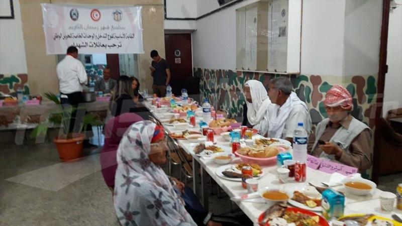 افطار جماعي بالقصرين