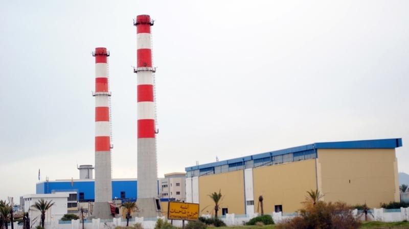 محطة إنتاج الكهرباء في رادس