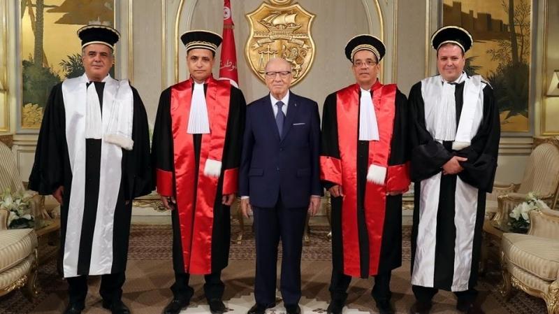 أعضاء المجلس الأعلى للقضاء