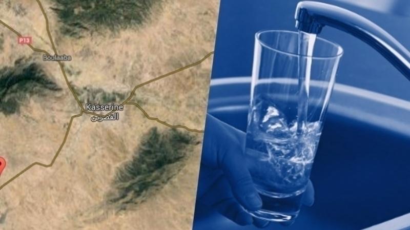 القصرين-انقطاع مياه الشرب