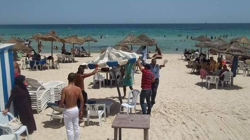 سوسة: حملة ضد الإنتصاب الفوضوي على الشواطئ