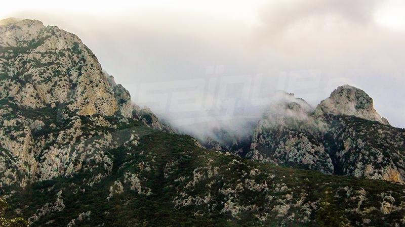 جبل - امطار
