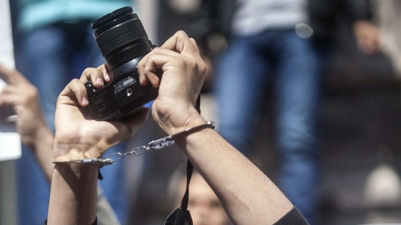 اعتقال صحفية