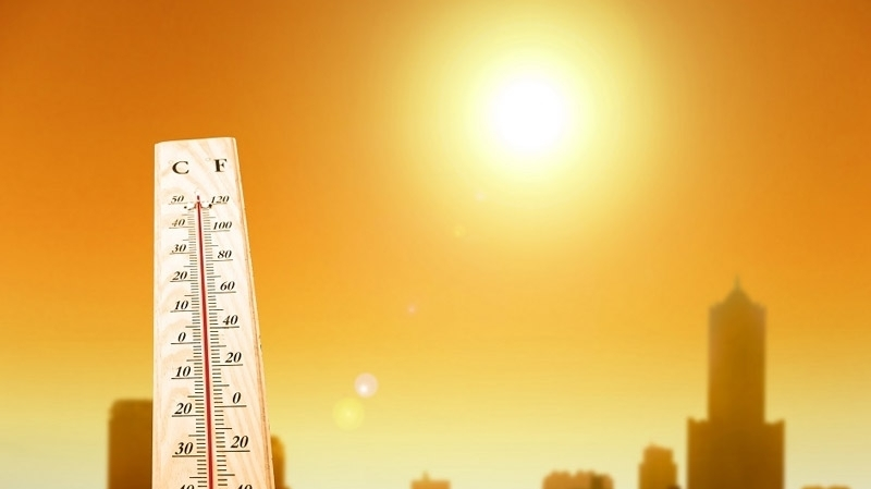 درجات الحرارة