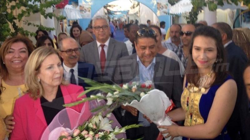 وزيرة السياحة سلمى اللومي