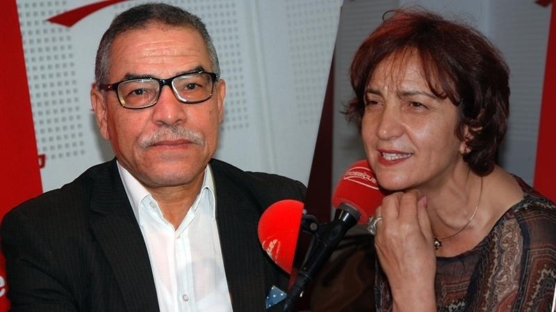 خميس قسيلة وسامية عبو