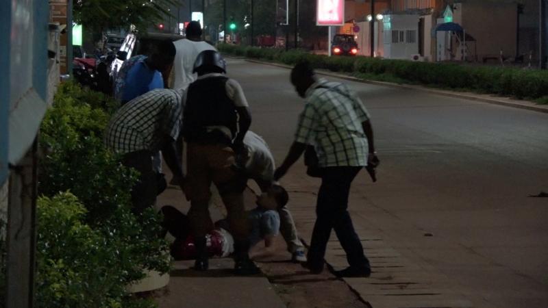 تفجير بوركينا فاسو