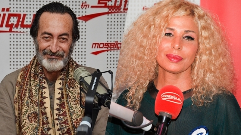 صوفية صادق وهشام رستم
