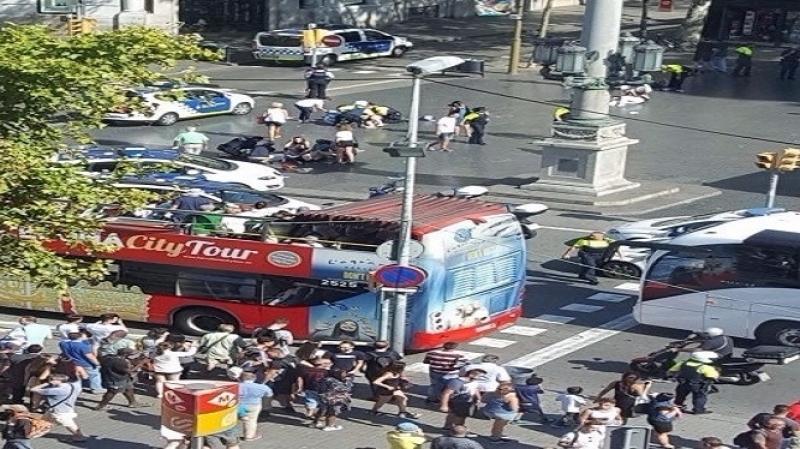 إسبانيا : مقتل 13 شخصا على الأقل في حادث الدهس ببرشلونة