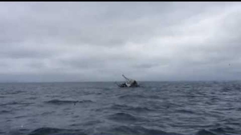 غرق سفينة عراقية إثر حادث تصادم في المياه الإقليمية
