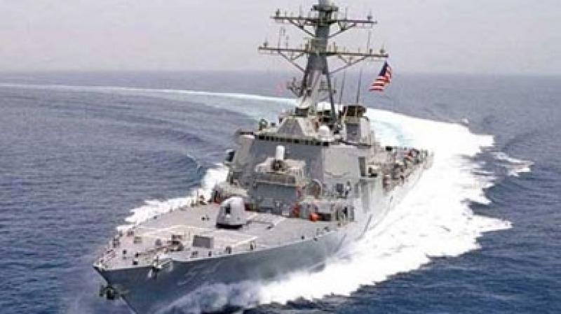 بارجة بحرية أمريكية