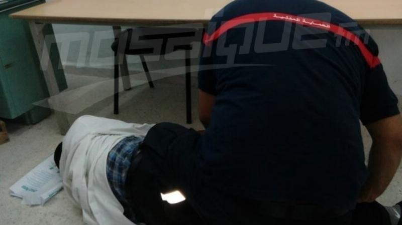 الاعتداء على معلم في بورويس