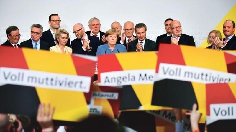 ألمانيا:ولاية رابعة لميركل والنازيون في البرلمان لأول  مرة بعد 72 عاما