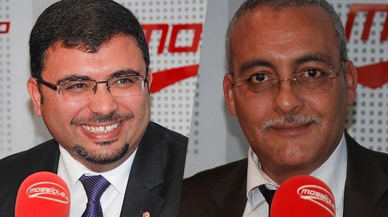 خالد شوكات وعبد القادر اللباوي في ميدي شو